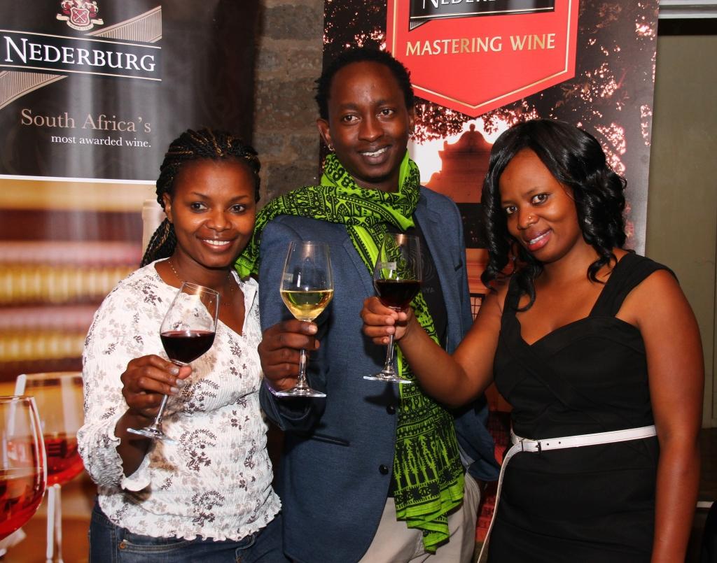 Loranne Mwakina, Eric Wainaina and Millicent Katiechi