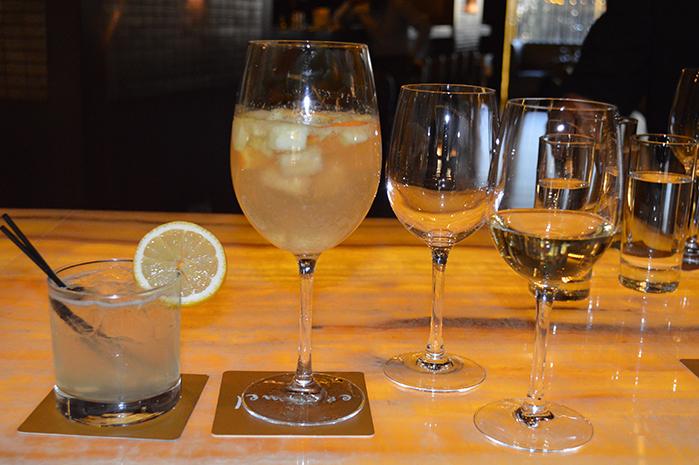 #WineInKenya Wine Cocktails at Caramel Restaurant & Lounge.