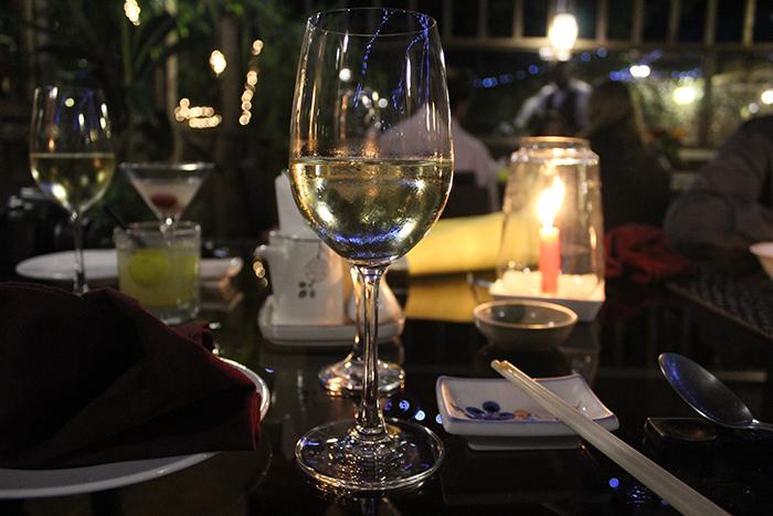 Wineglass bay dinner
