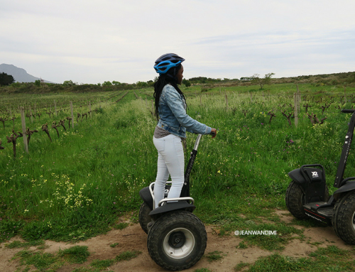 TAKE A TOUR OF THIS BEAUTIFUL WINE FARM, ON A SEGWAY