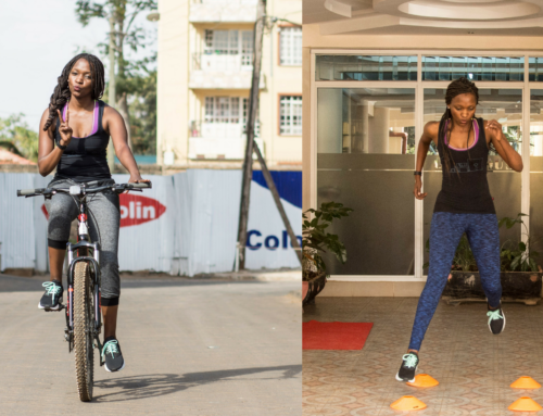 WAMBUI MWANGI SHOWS US HOW TO START A HEALTHY LIFESTYLE
