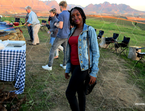ATTENDING A SOUTH AFRICAN BRAAI / WINE TOURISM